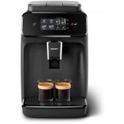 Espressor complet automat Philips EP1200/00, 2 băuturi, 15 bar, 1.8 L, 12 setări de măcinare, 3 setări de temperatură, Afişaj tactil, Filtru AquaClean, Negru mat