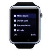 "Smartwatch iUni A100i, 1.54"", Bratara silicon (Negru) + Cartela SIM Orange PrePay, 6 euro credit, 4 GB internet 4G, 2,000 minute nationale si internationale fix sau SMS nationale din care 300 minute/SMS internationale mobil UE"