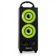 Beachboy Aparelhagem USB FM Bluetooth Verde