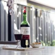 Qualy Wijnglas Wijnstopper (Set Van 2) - Qualy