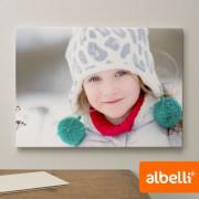 Albelli Jouw Foto op Canvas - Canvas Liggend 120x80 cm.