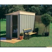 Abri de jardin métal adossable Colorbond 8 x 5 TRECO