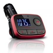 Energy Sistem Car MP3 f2 Racing Red trasmettitore FM 87,5 - 108 MHz Nero, Rosso