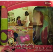 Disney Junior Minnie Mouse & Friends Game Rug with 2 Bean Bags