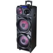 Sistem Audio Akai DJ-3210, Bluetooth, DJ effects, Party light (Negru)
