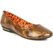 Lovely Chick Lovely Chick Brown Women Casual Ballerinas Cp-Patent-Brown Casual Shoe For Women(Brown)