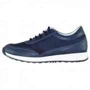 Pantofi piele naturala copii - bleumarin, Melania - ME6200F9E-A