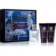 Versace Pour Homme coffret V. Eau de Toilette 50 ml + champô 50 ml + gel de duche 50 ml
