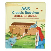 365 Classic Bedtime Bible Stories: Inspired by Jesse Lyman Hurlbut's Story of the Bible, Hardcover