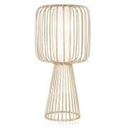 Lasfera Vloerlamp Moolin Medium -Ø60 X H125 Cm - Bamboe