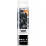 SONY ušesne slušalke črne barve- MDR-E9LPB MDRE9LPB.AE