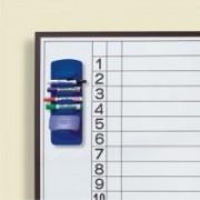 Suport magnetic ARTLINE, pentru 4 markere burete, pentru table magnetice