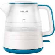 Philips HD9344/14 Electric Kettle(1 L, Star white & Caribbean blue)