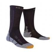 X-Socks Trekking Silver Calzini lunghi trekking - Black/Anthracite
