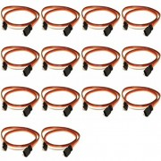 14 x Quantity of DJI S1000 15CM Servo Lead Extension (JR) 26AWG(Servo Connector) Wire Cable Male to Female