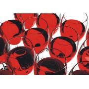 Fototapet FT 0081 Pahare cu vin