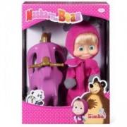 Кукла Маша с шейна, Маша и Мечока, 041007