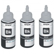 Original Epson Black Ink Pack of Three T6641
