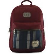 Harissons Rustic Backpack(Maroon, 21 L)