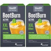 SlimJOY Queimador de gordura BootBurn ACTIVE com efeito XXL. Bebida com sabor a manga. 2x 15 saquetas
