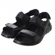 【SALE 30%OFF】エコー ECCO INTRINSIC SANDAL MEN'S (BLACK/BLACK) メンズ