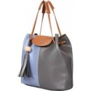 New Eva Women Blue, Grey Shoulder Bag