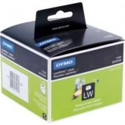 Dymo 11354 (S0722540) Etiket Zwart op wit (57 mm x 32 mm)