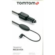 TomTom Trafikmottagare med Billaddare f. TomTom Via LIVE 120 - Europe