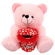 DealBindaas Marshy Bear Valentine Soft Toy Pink 30 Cms. Specifications Brand