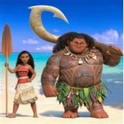 Set Moana+Demi God Maui-Vaiana