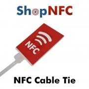 Abrazadera NFC de nylon con indicador NTAG21x