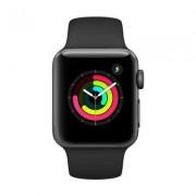 Begagnad Apple Watch Series 3 42mm Svart i okej skick Klass C