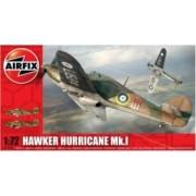Kit aeromodele Airfix 02067 Avion Hawker Hurricane MkI Scara 1 72
