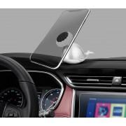 Topfree universele telefoon walvis vorm magnetische houder standaard mount, voor iPhone, Samsung, LG, Nokia, HTC, Huawei en andere smartphones (zilver)
