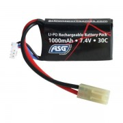 ASG Airsoft Akku Mini Type 7.4V 1000 mAh LI-PO