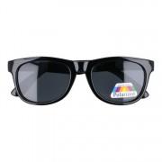 Sunmania detské slnečné okuliare Wayfarer čierna