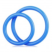 Blue Line Silicone C Ring Set Accessory Blue BLM4005