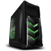 PC кутия Chassis Vortex_V4 Middle Tower, ATX, 7 slots, 2 X 5.25', 3 X 3.5' H.D., 3 X 2.5' SSD, 1 X USB2.0 / 2 x AUDIO / 1 x USB3.0, PSU