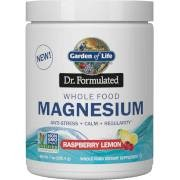 Garden of Life Whole Food Magnésium - Framboise Citron - 198.4g