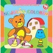 Prima mea carte de colorat. Ne jucam coloram