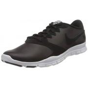 Nike Flex Essential TR LT- Zapatillas de Deporte para Mujer, Color Black/Black-White-Lt Crimson, 8.5