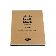 Bloc A4 alb-natur-negru 60 file DACO BD403