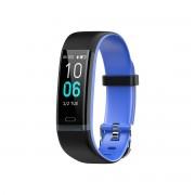 Fitness Bracelet IP68 Waterproof Blood Pressure Monitor Multi-sport Modes Pedometer Heart Rate Smart Band - Blue