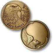Bald Eagle Engravable Challenge Coin
