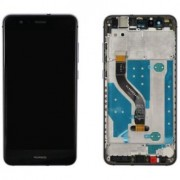 Display cu touchscreen si rama Huawei P10 Lite Original Negru