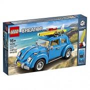 LEGO Creator Series Lepin 21003 Volkswagen Beetle City Car Building Blocks Model Compatible Legoed Technic Toys (Blue)
