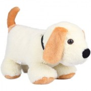 Ultra Cute Dog Soft Toy 17 Inches- White