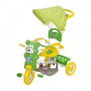 Macis fedeles tricikli, zöld-sárga
