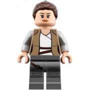 sw0888 Minifigurina LEGO Star Wars-Rey - Dark Tan Jacket sw0888