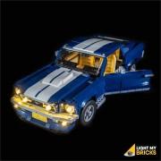 LIGHT MY BRICKS Kit for 10265 FORD MUSTANG GT